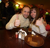 "The opening of the pub ""One Ton"" in Ramenskoye"