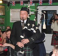 The pub celebrated the Celtic festival of Samhain